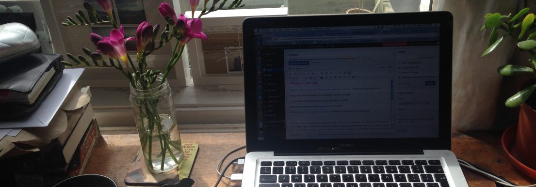 how blogging turned my world upside down