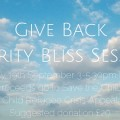 Give Back Charity Bliss Session